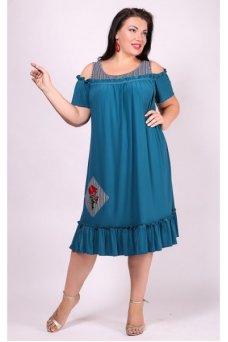 Платье Таврия (бирюза)