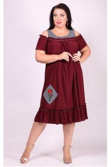 Платье Таврия (бордо)