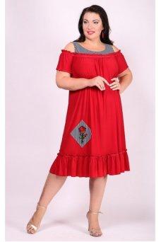 Платье Таврия (красный)