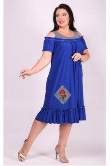Платье Таврия (василек)