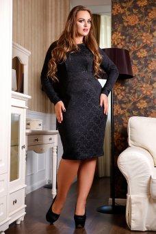 Платье Блеск А2 (черный)