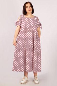 Платье Анфиса (брусника)