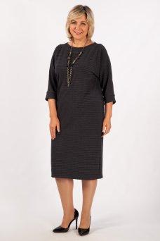 Платье Беретта (антрацит)