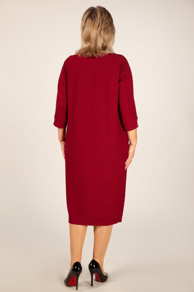 Платье Беретта (бордо)