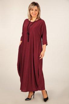 Платье Эвита (бордо)