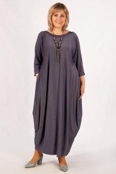Платье Эвита (серо-голубой)