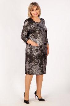 Платье Илона (серебро)