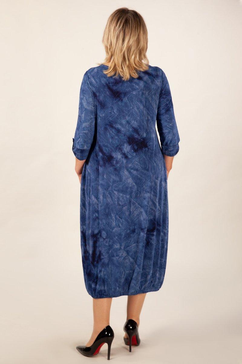 Платье Инга (синий)
