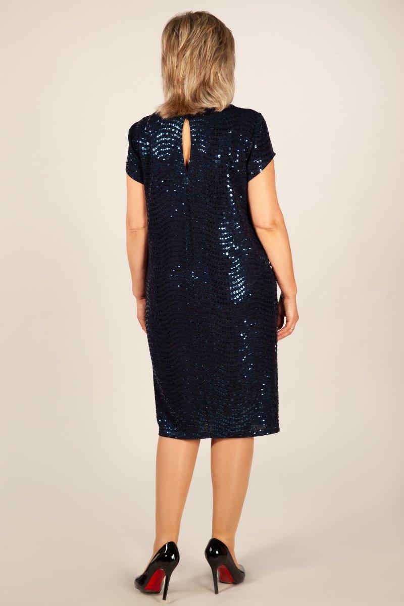 Платье Канны (темно синий)
