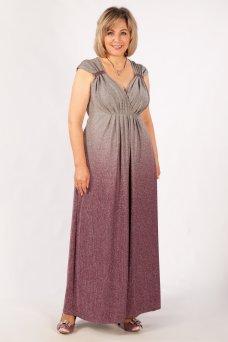 Платье Милана (брусника)
