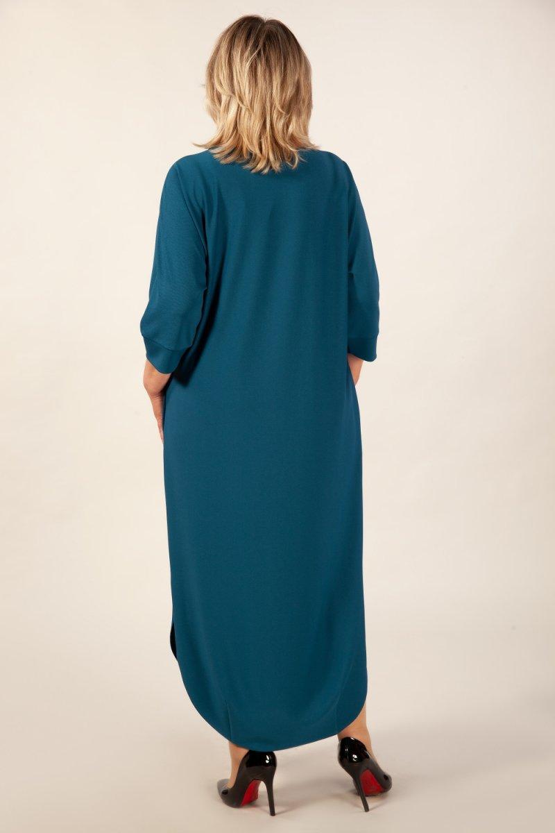 Платье Мона (темно голубой)