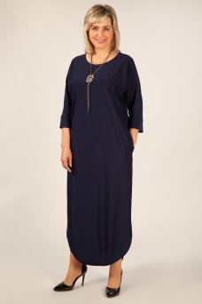 Платье Мона (темно синий)