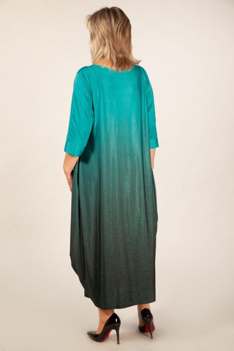 Платье Пати (бирюза)