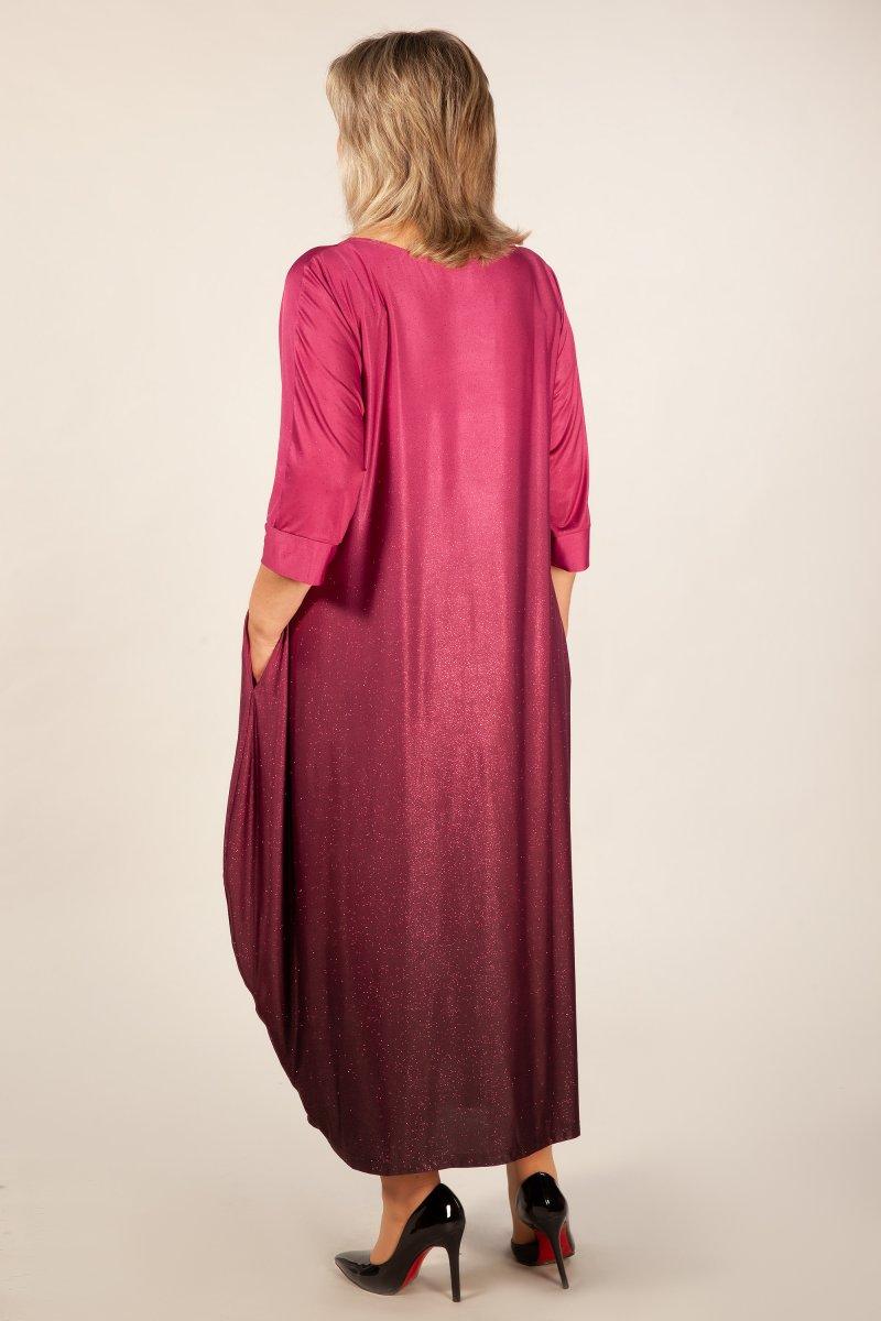 Платье Пати (бордо)
