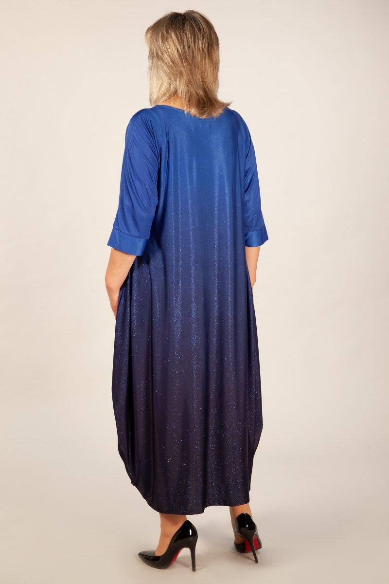Платье Пати (василек)