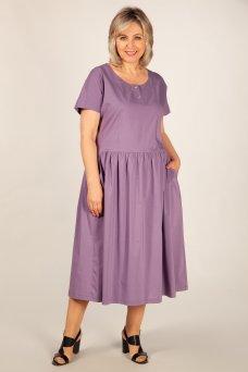 Платье Сабина (брусника)