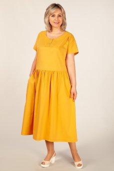 Платье Сабина (горчица)