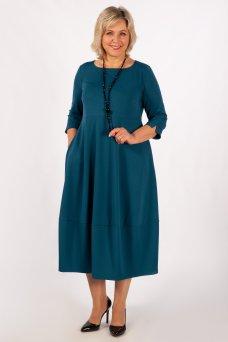 Платье Трейси (темно/голубой)