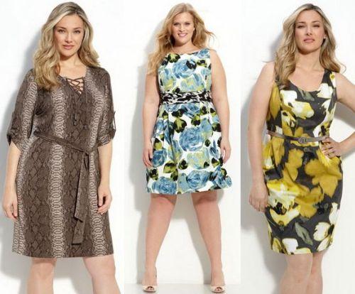068f4fa1ae2bdc9 Летние платья для офиса – скрываем полноту, подчеркиваем женственность