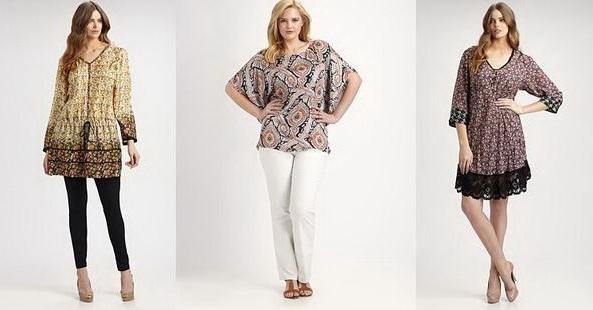 3f1fc47e91b Летняя одежда 2015 для полных женщин  обзор моделей
