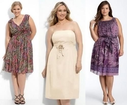 cf5103aad8e0d16 Нарядные платья для полных женщин: мода 2014 года